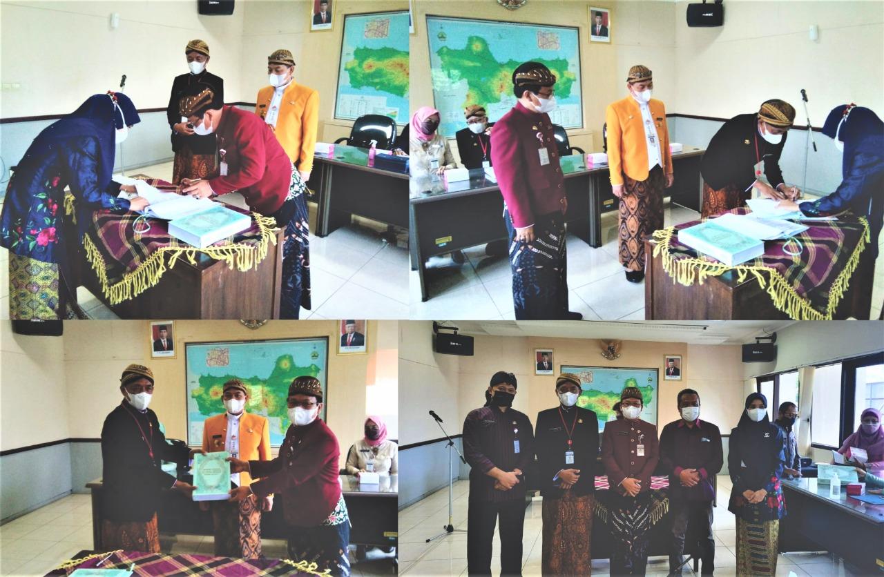 Serah Terima Jabatan Plt. Kepala SMAN 1 Semarang