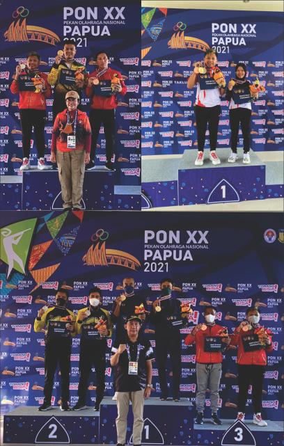 Perolehan Medali di PON XX di Papua oleh Siswa